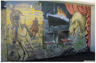 mural-horse-titanic-dinosaur