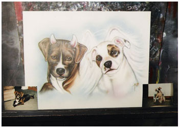 pet-portraits-devil-angel-pitbulls