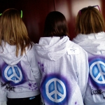 Airbrushed Peace Sign